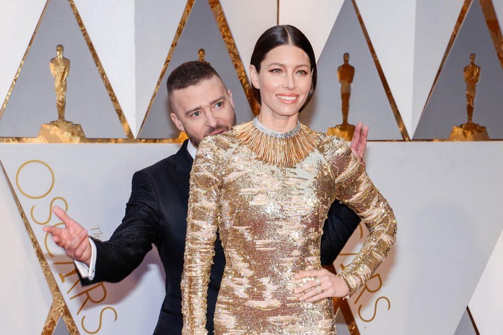 Jessica Biel Justin Timberlake Oscars