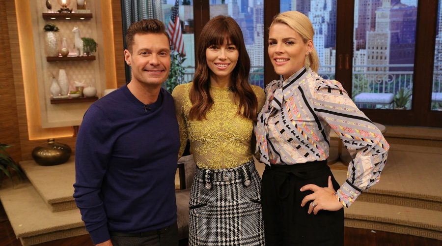 Jessica Biel Live With Kelly and Ryan
