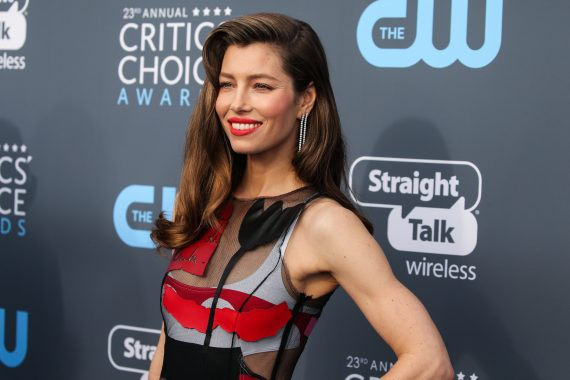 Jessica Biel Critics Choice Awards